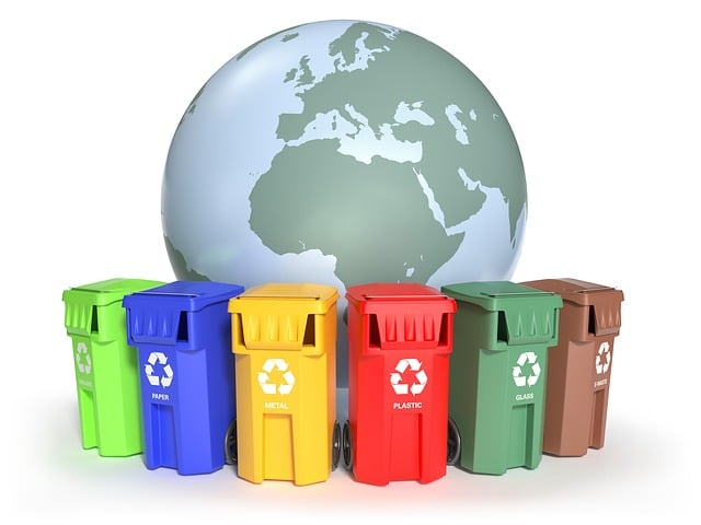 If you had individual bins that were labeled for plastic, metal cans, glass bottles, and paper that contamination might be reduced.