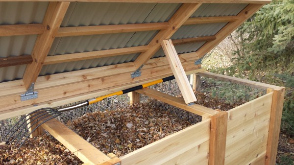 Three Times the Action: Build Your Own Triple Compost Bin