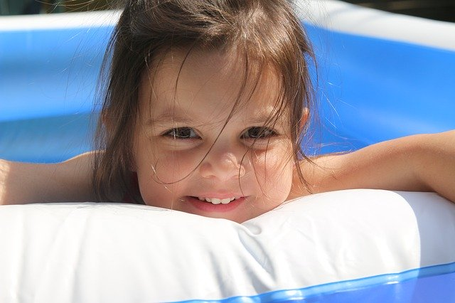 Maven Moment Cooling Off In The Kiddie Pool