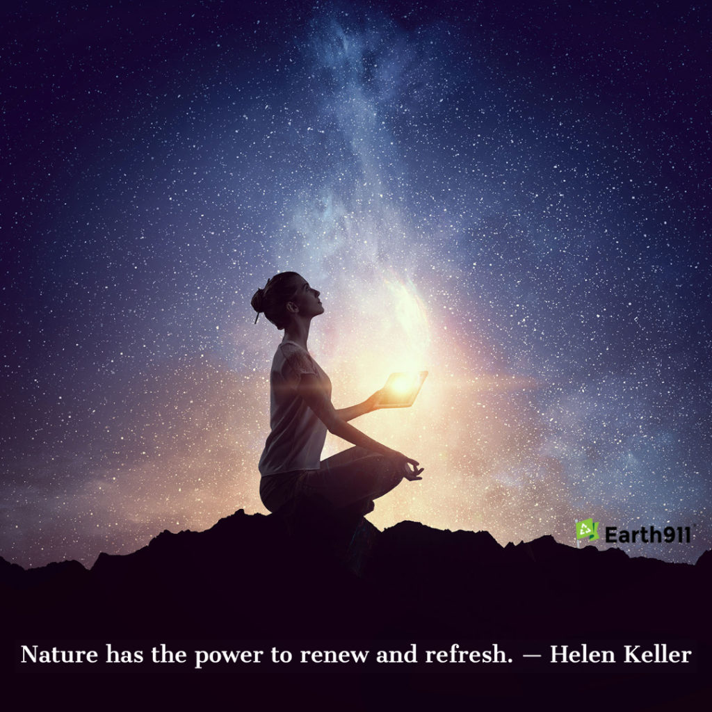 Earth911 Inspiration: Nature Has The Power