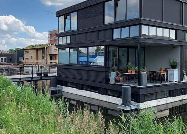 are floating neighborhoods a solution for rising sea levels?