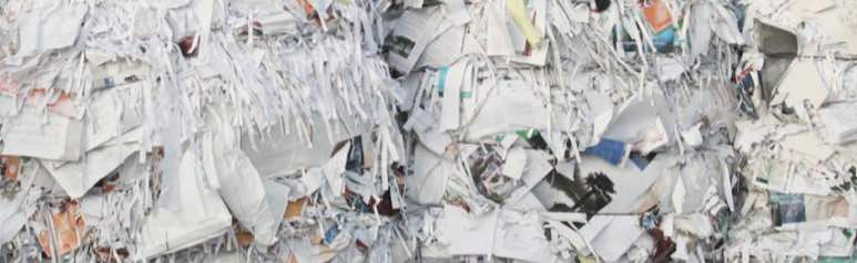 Why Use Recycled Paper? P